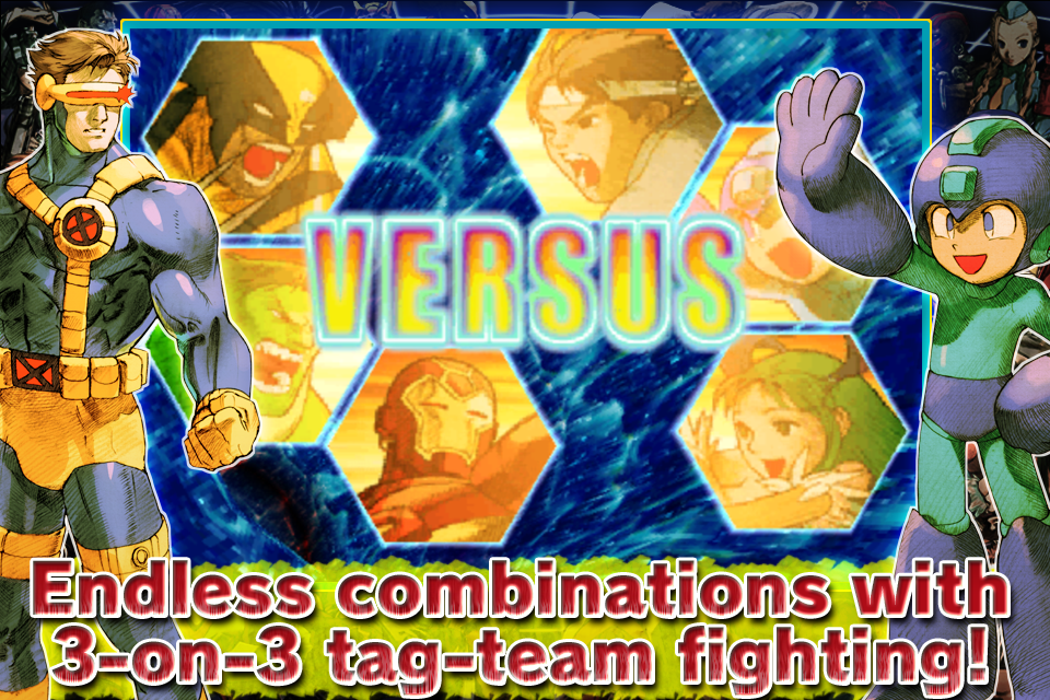 Screenshot Marvel Vs. Capcom 2 Review