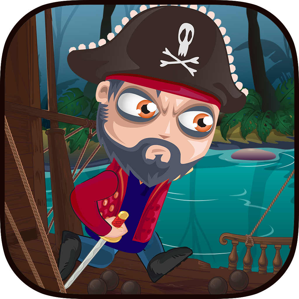 Tap Pirate Jump: Paradise Legends Pro